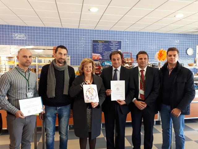 El Hospital Sierra de Segura colabora con Jaen Sin Gluten para garantizar una cocina sin gluten