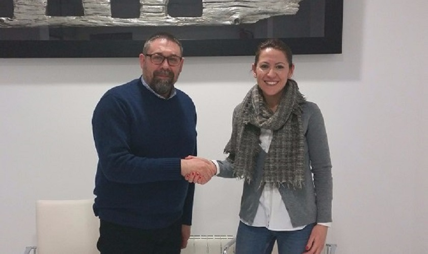 Firma con Apeceja del convenio para el desarrollo del proyecto Jaén Sin Gluten