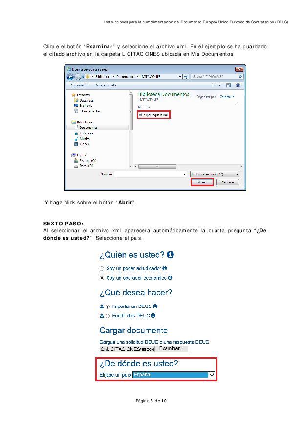 como rellenar DEUC page 003 - DEUC